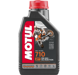 Oil motor Motul 710 2T 1L (adapt also on model with oil injection)