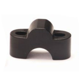 Accossato riser for risers handlebar 28mm in alu7075 cnc machined with high 20mm
