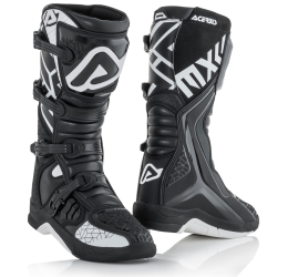 Off-road boots Acerbis X-Team black-white 2019 collection